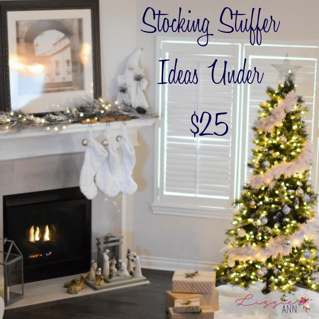 Stocking Stuffer Ideas Under $25