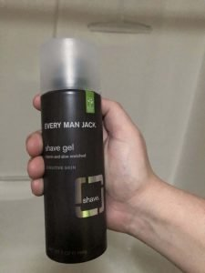 Every Man Jack Shave Gel Fragrance Free