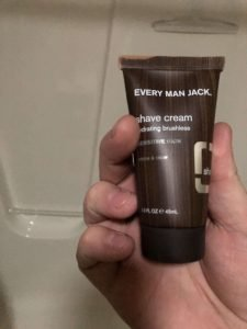 Every Man Jack Shave Cream Fragrance Free